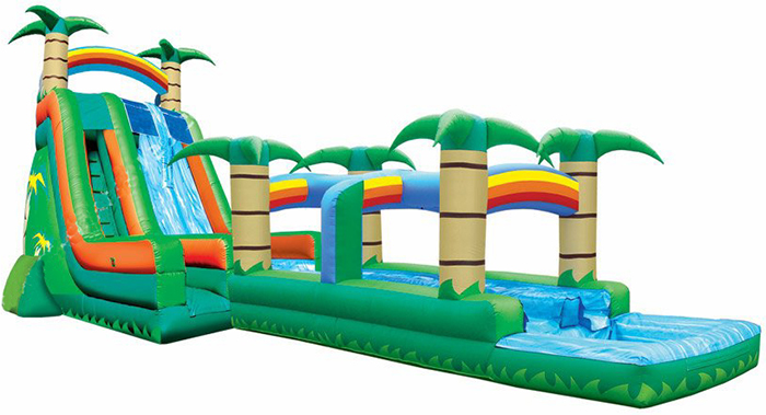 b1b131f1b372 These awesome water slides will be a guaranteed hit at your party!